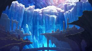 Landscape Anime Fantasy Art 2000x1414 Wallpaper
