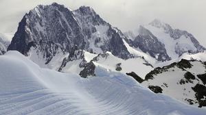 Landscape Mountains Snow Snowy Mountain 3840x2160 Wallpaper