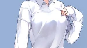 Re Zero Kara Hajimeru Isekai Seikatsu Anime White Shirt Skinny Jeans Torn Jeans Hair Pins Nail Polis 1891x3285 Wallpaper
