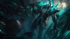 Draven Draven League Of Legends League Of Legends Riot Games ADC Adcarry 7680x4320 Wallpaper
