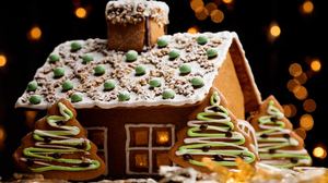Christmas Cookie Gingerbread 2560x1600 Wallpaper