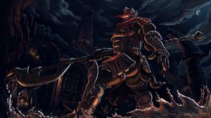 Armor Dark Souls Iii Warrior 6000x3545 Wallpaper