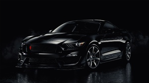 Black Car Car Ford Ford Mustang Muscle Car Vehicle 2048x1152 Wallpaper