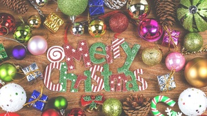 Christmas Christmas Ornaments Colors Merry Christmas 4000x2667 Wallpaper