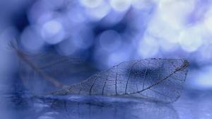 Blue Bokeh 5464x3269 wallpaper