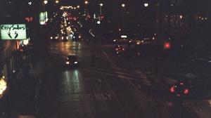 Film Grain Traffic Bokeh City Night Car Dark 1800x1215 Wallpaper