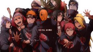 Pain Naruto Konan Naruto Deidara Naruto Hidan Naruto Kisame Hoshigaki Zetsu Naruto Obito Uchiha Kaku 1920x1362 Wallpaper