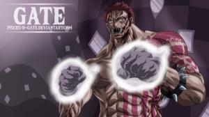 One Piece Katakuri Muscles Fists Anime Male 1920x1080 wallpaper