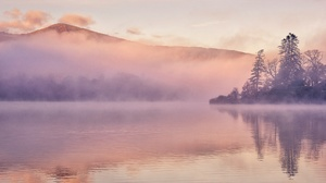 Fog Lake Nature 2048x1305 Wallpaper