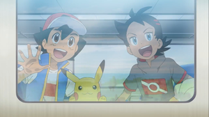 Ash Ketchum Boy Go Pokemon Pikachu Pokemon 2001x1125 Wallpaper