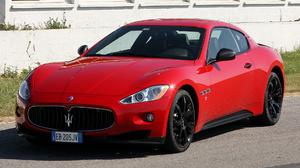 Maserati Granturismo Mc Sport Line Sport Car Grand Tourer Red Car Car 1920x1080 Wallpaper
