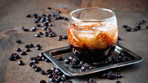 Coffee Coffee Beans Glass 3764x2500 Wallpaper