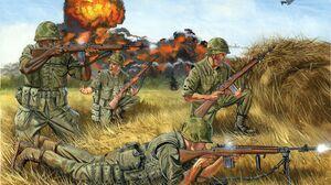 US Marines Vietnam War War Soldier Men Military Artwork 2000x1368 Wallpaper