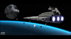 Death Star Star Destroyer Tie Fighter 1920x1200 Wallpaper