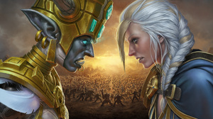 Video Game World Of Warcraft Battle For Azeroth 2400x1350 wallpaper