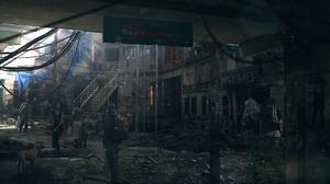 Sci Fi Post Apocalyptic 2454x1080 Wallpaper