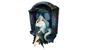 Dress Priscilla The Crossbreed Dark Souls Scythe White Hair Setz Dark Souls 2560x1440 Wallpaper