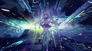 Anime Anime Girls Digital Art Artwork 2D Portrait 3840x2160 wallpaper