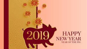 Chinese New Year Pig 6001x4001 Wallpaper