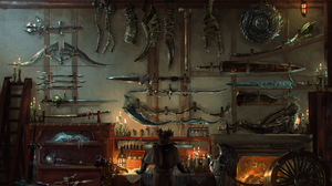 Bloodborne Bow Sword Video Game Weapon 1920x1242 Wallpaper
