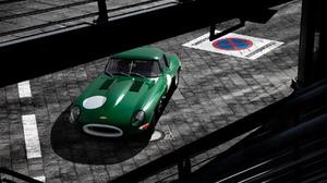 Photography Car Classic Car Vintage Car Damian Szmurlo Street Jaguar Car Green Car Selective Colorin 1800x1200 Wallpaper