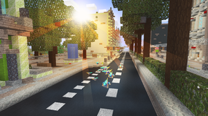 Minecraft Video Game Art Video Game Landscape Video Games Games Posters 2560x1440 Wallpaper