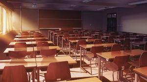 Blackboard Chair Classroom Desk Manatsu No Yoru No Yuki Monogatari Sunbeam 1920x1080 Wallpaper