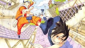 Naruto Uzumaki Sasuke Uchiha 3840x2160 Wallpaper