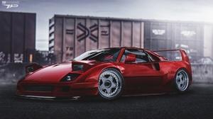 Ferrari Ferrari F40 1920x1080 Wallpaper