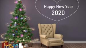 Christmas Tree Happy New Year New Year 2020 2560x1920 Wallpaper