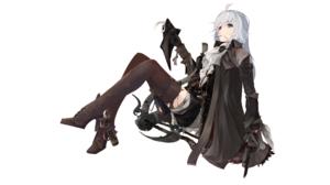 Bloodborne Lady Maria Lady Maria Of The Astral Clocktower Coats Boots White Hair Super Railgun 2560x1440 Wallpaper