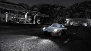 Need For Speed Hot Pursuit Porsche 911 RSR Monochrome Video Games 1920x1080 wallpaper