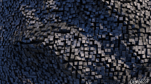 Watermarked Abstract 3D Abstract 1920x1080 Wallpaper