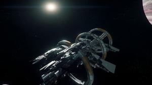 Constellation Andromeda Star Citizen Port Olisar Star Citizen Star Citizen 3840x2160 Wallpaper