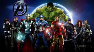Avengers Black Widow Captain America Fan Art Hawkeye Hulk Iron Man Nick Fury Thor 1440x900 Wallpaper