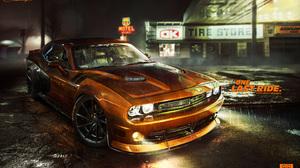 Car Dodge Challenger Srt Muscle Car 2880x1800 Wallpaper