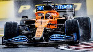 Carlos SAiNZ Jr McLaren F1 Formula 1 Race Tracks F1 2020 Dell Water Car Race Cars Racing Sport Sport 2000x1103 Wallpaper