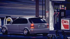 Honda Honda Civic Type R White NFS 2015 Need For Speed VTEC 7680x4108 Wallpaper