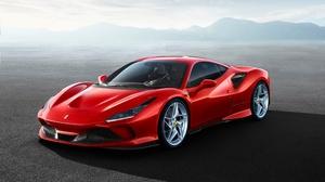 Car Ferrari Ferrari F8 Tributo Red Car Sport Car Supercar 4962x3728 wallpaper