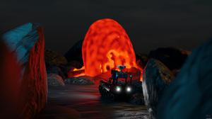 Robot Blender Angatec Firefighter Robot TEC800 Fire Vehicle 3840x2160 Wallpaper