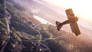 Aircraft Airplane Battlefield 1 Triplane Warplane World War I 2560x1440 Wallpaper
