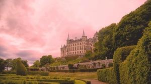 Building Castle Dunrobin Castle Garden Scotland 2048x1365 Wallpaper