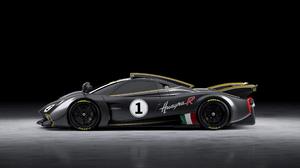 Pagani Pagani Huayra Supercars Italian Supercars Grey Cars Carbon Fiber Car Vehicle Sports Car Side  2560x1440 Wallpaper