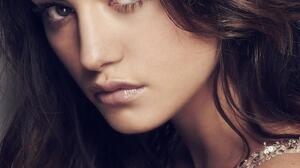 Phoebe Tonkin Women Model Actress Dark Hair Brunette Women Indoors Face 1500x2245 Wallpaper
