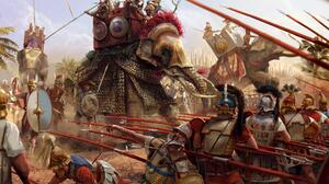 Battle Of Zama Scipio Africanus History Artwork War Battle Elephant Animals Mammals Military Soldier 1920x1280 Wallpaper