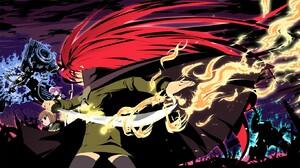Anime Shakugan No Shana 1364x768 wallpaper
