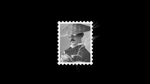Postcard Vintage Noise Graphic Design Photoshop Digital Art Black White 2048x1080 Wallpaper