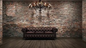 Chandelier Lounge Couch Wall 1920x1200 Wallpaper