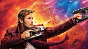 Guardians Of The Galaxy Vol 2 Star Lord Chris Pratt 8973x4320 Wallpaper