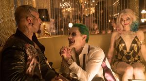 Deadshot Harley Quinn Jared Leto Joker Margot Robbie Suicide Squad Will Smith 1920x1282 Wallpaper